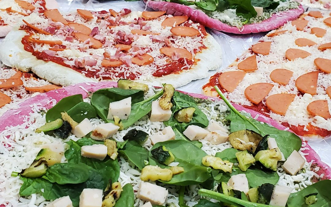 Gluten-free and keto pizza crusts are now available at Mimi Foods